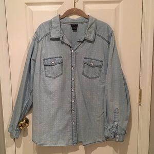 Torrid button up shirt